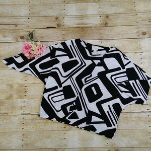 Chico's Tops - Chico's Abstract Print Dolman Sleeve Top Size M